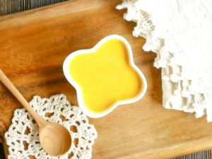 チーズ風味のかぼちゃポタージュ
