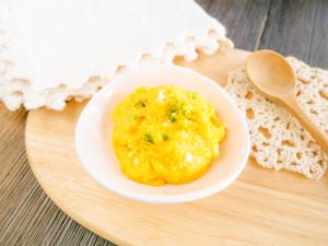 チーズとコーンのマッシュ_レシピ